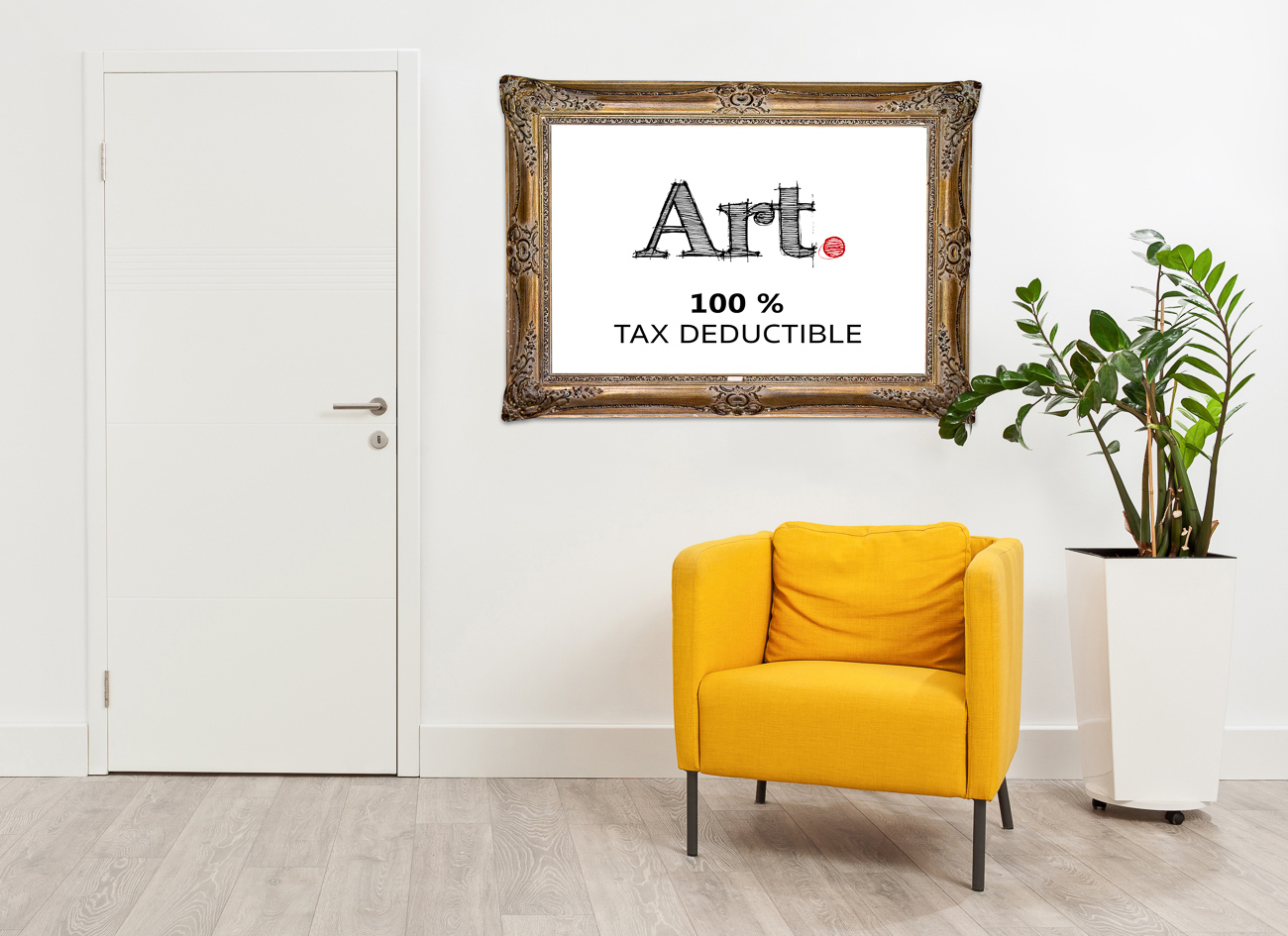 Tax deduction demo purchase work art Canadian