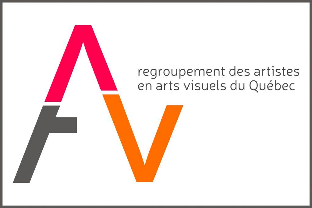 Les lettres A et V forment le logo du RAAV