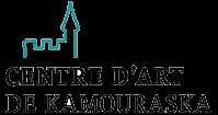 Logo d'un château avec les mots Centre d'art de Kamouraska