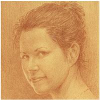 portrait dessiné de Sara Giguère